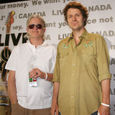 Greg Keelor and Jim Cuddy of Blue Rodeo at Live 8
