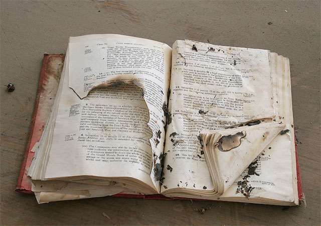 Battered Book