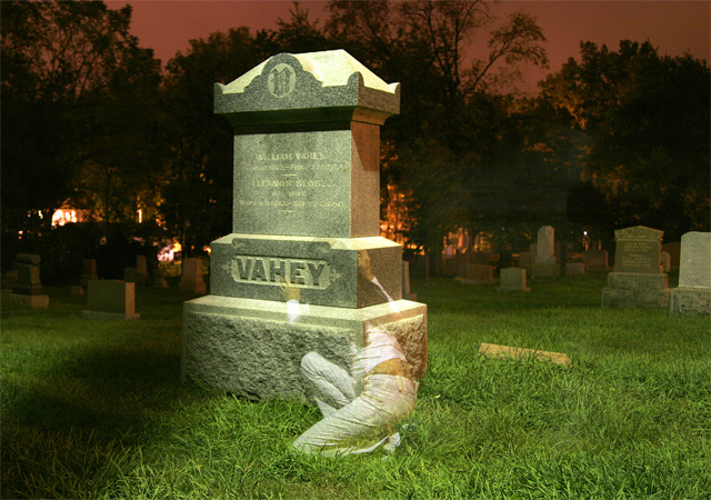 Cemetery Ghost