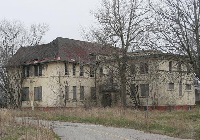 Abandoned Psychiatric Hospital - Building #8