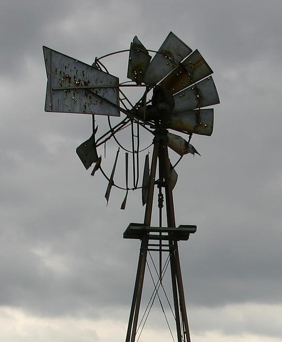 Farm Ruins - Windmill