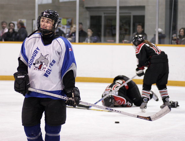 Womens Hockey:  A Rough Sport