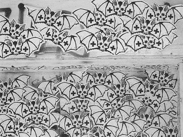 Graffiti Bats #1