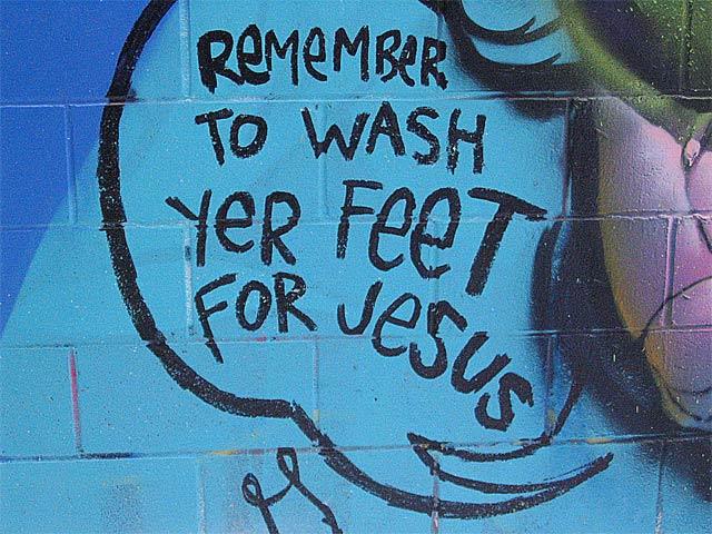 Wash Yer Feet