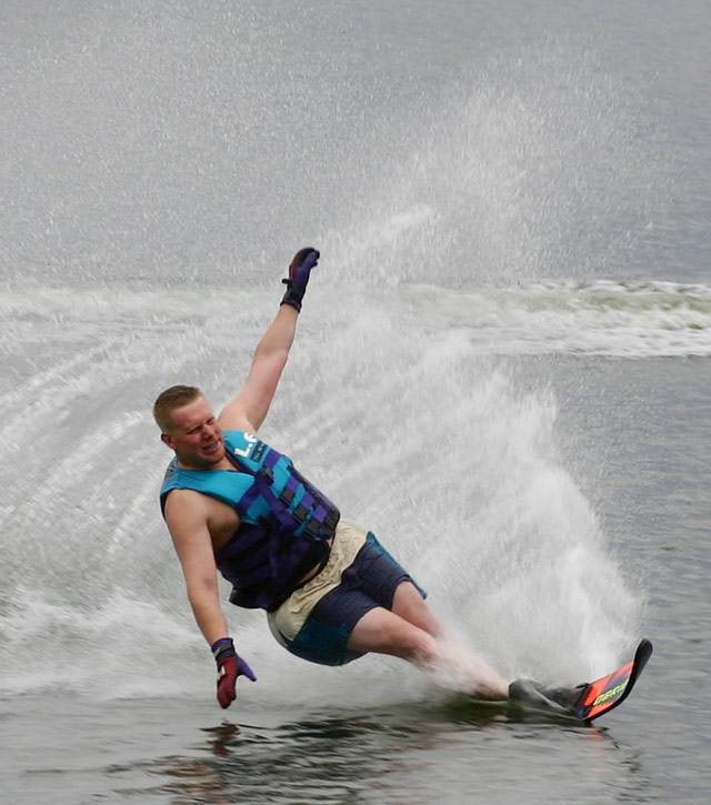 Waterskiing Dave