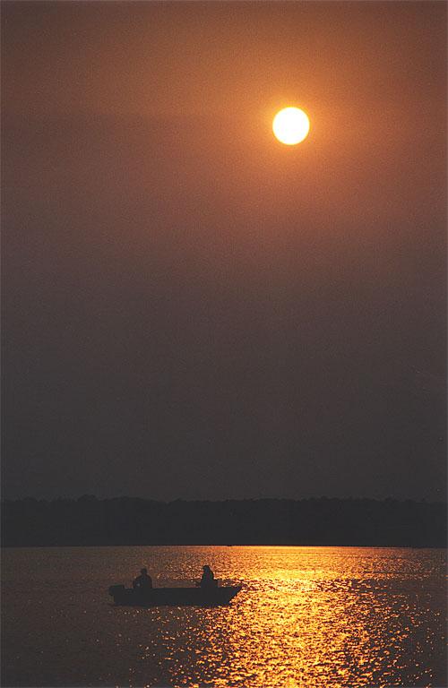 Sunset Fishermen