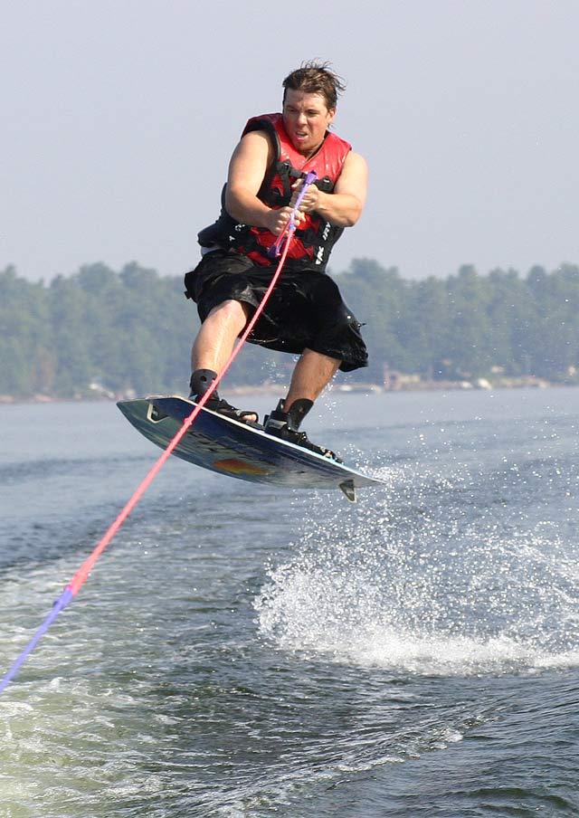 Head Lake Wakeboarding #3