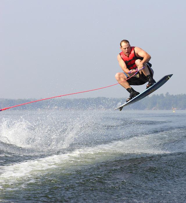Head Lake Wakeboarding #1