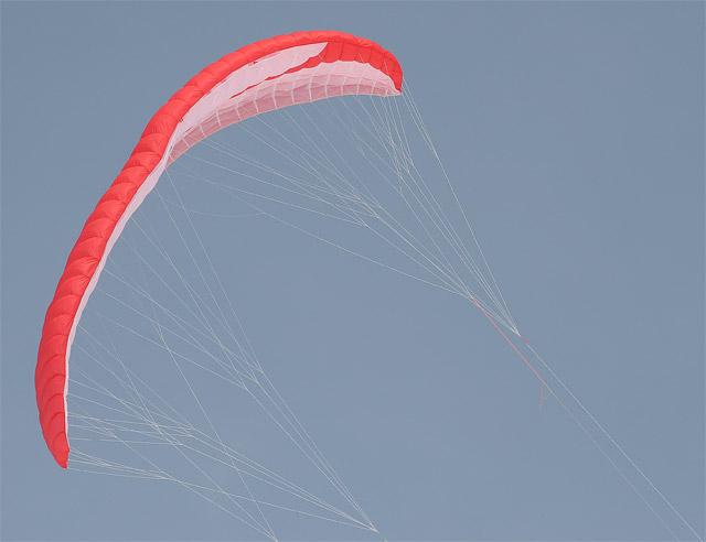 Parachute Skiing #4