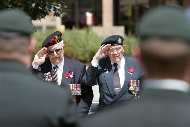 D-Day Ceremony